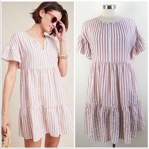 COPY - Anthropologie Striped Dress